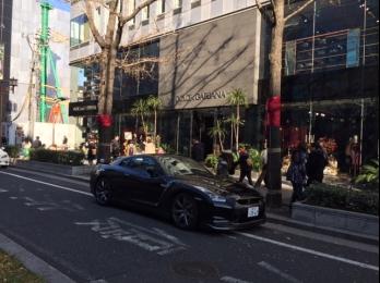 GTR、大阪にてパシャリ!!
